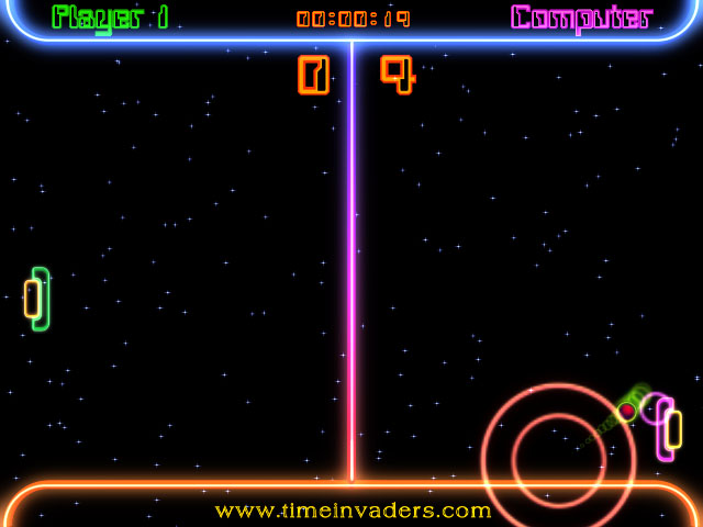 Click to view Space Ping Pong Match screenshots